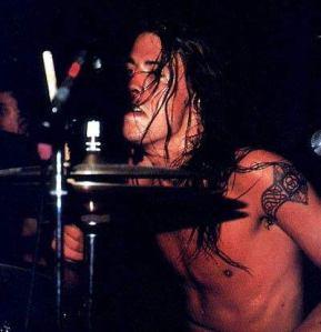 David Grohl drummer of Nirvana